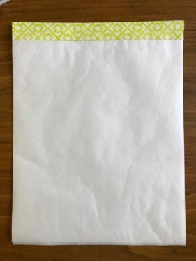 2_Taping Freezer Paper