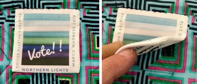 Northern Lights Medallion Name label