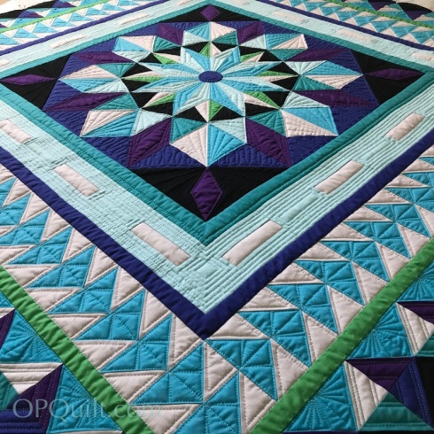 Northern Lights Medallion_quilting