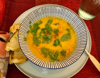 Carrot Cauliflower Soup