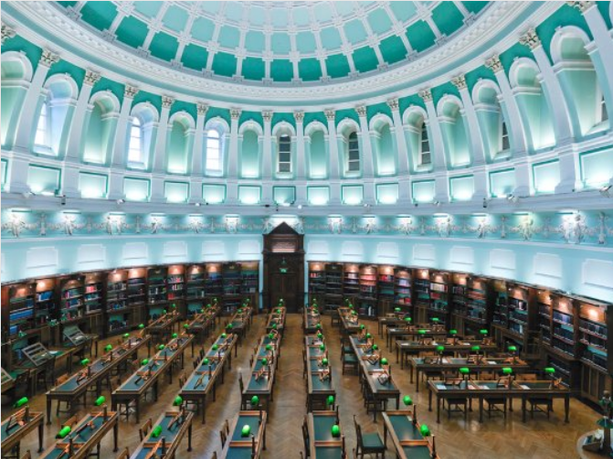 Dublin NatlLibraryIreland_reading room