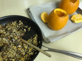 Stuffed Pumpkin Dinner1