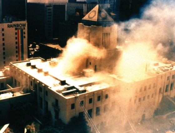 Burning LA Library 1