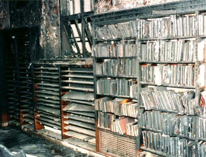 Burning LA Library 2