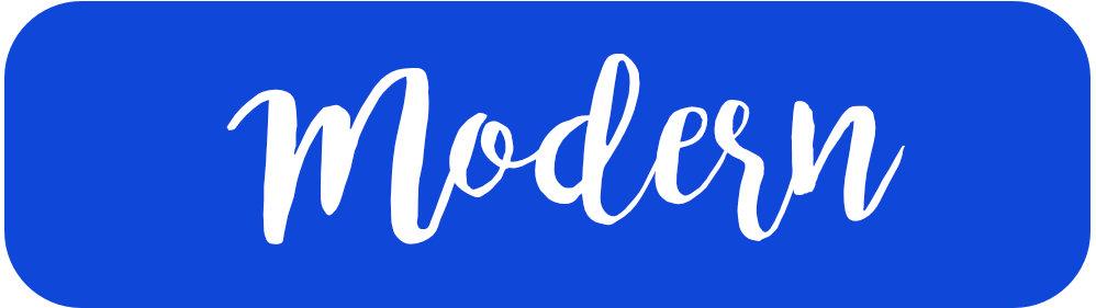 modern label