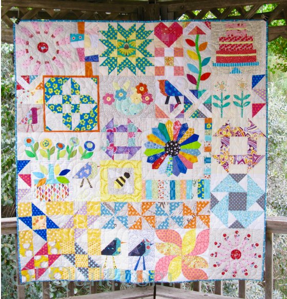 sing a song of sampler quilt