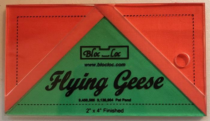 Flying Geese BlocLoc ruler