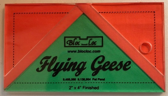Flying Geese BlocLoc ruler