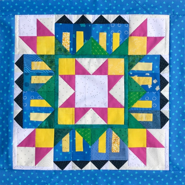 Merrion Square, Version 2_OPQuilt