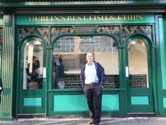 Dublin and Fish and Chips