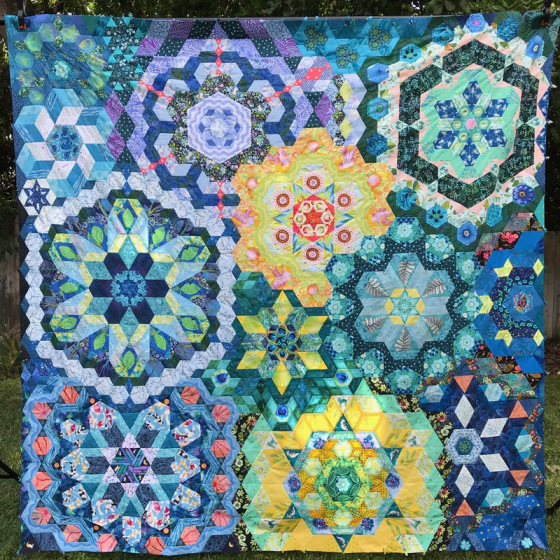 Plitvice Quilt_unquilted