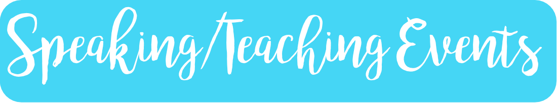 Speaking Teaching Events