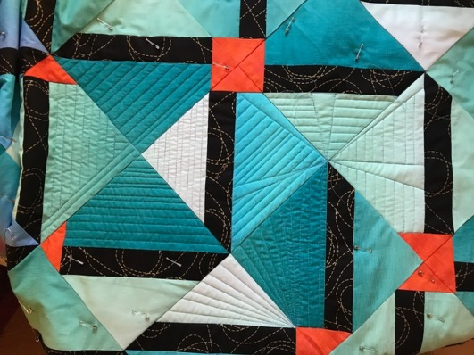 Quilting with no direction