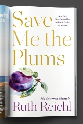 SAVE ME THE PLUMS -- cover