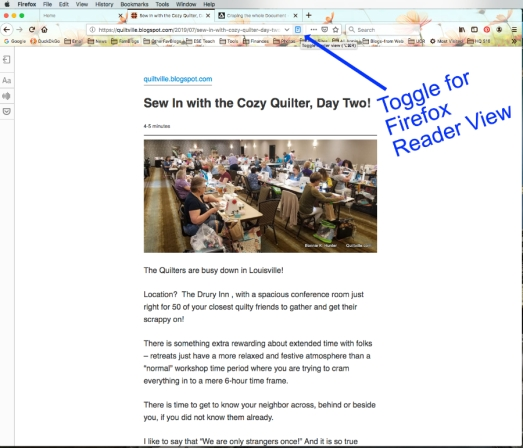 Reader View Firefox1