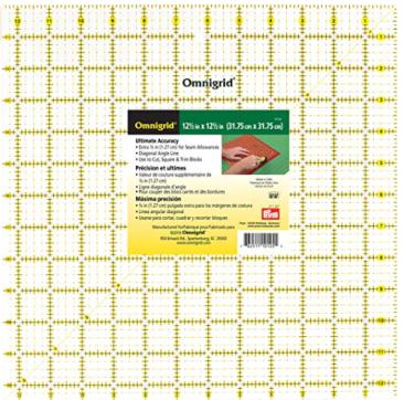 rulers 12.5 square Omnigrid