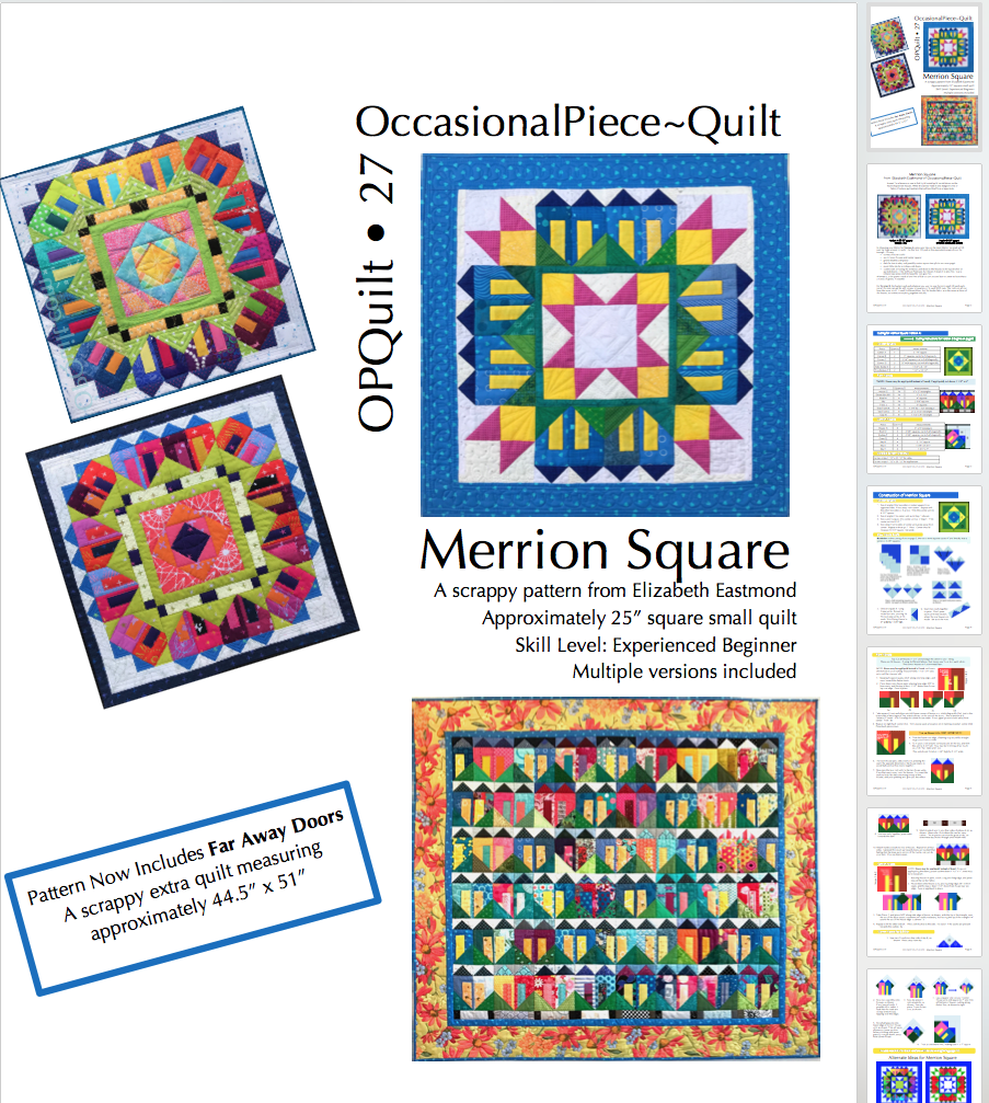 Merrion Square Pattern Revise
