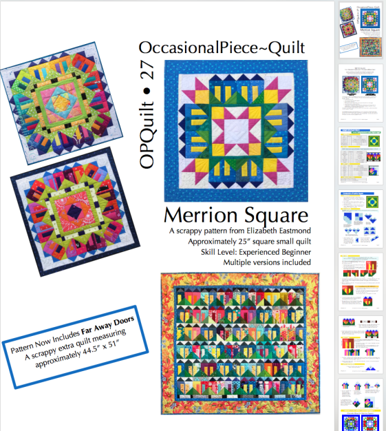 Merrion Square Pattern Revise