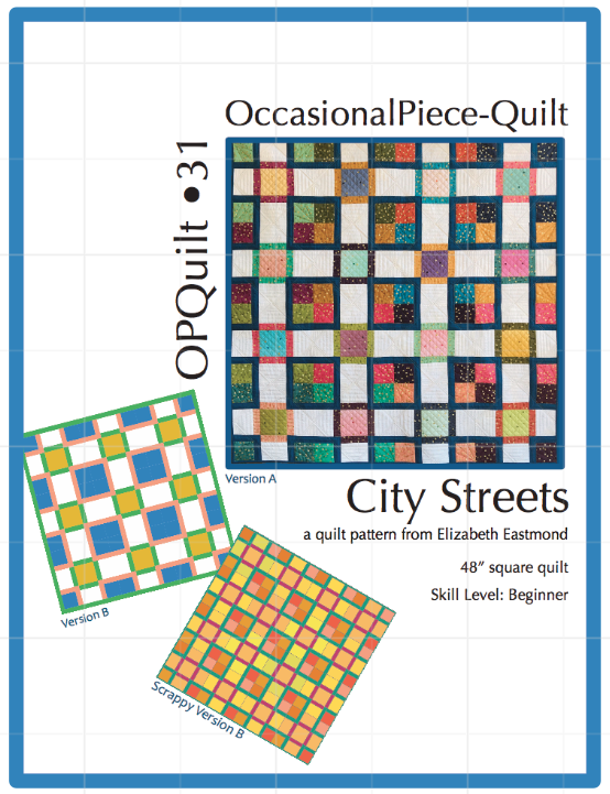 City Streets Pattern Cover