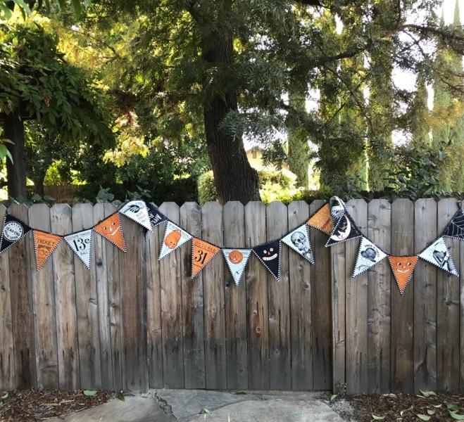 Halloween Pennant Banner_8