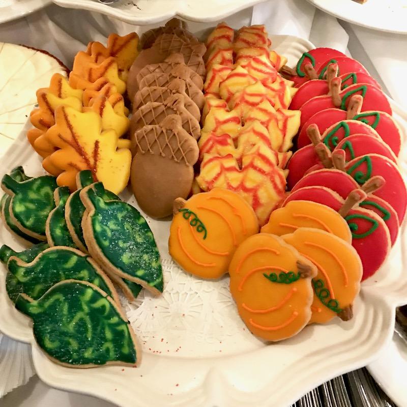 Fall Cookies 2019