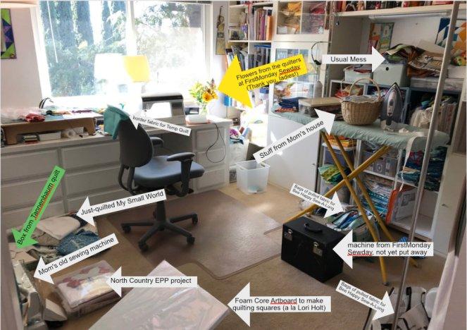 January 2020 Messy Room