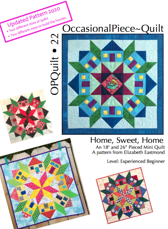 Home Sweet Home pattern front 2020