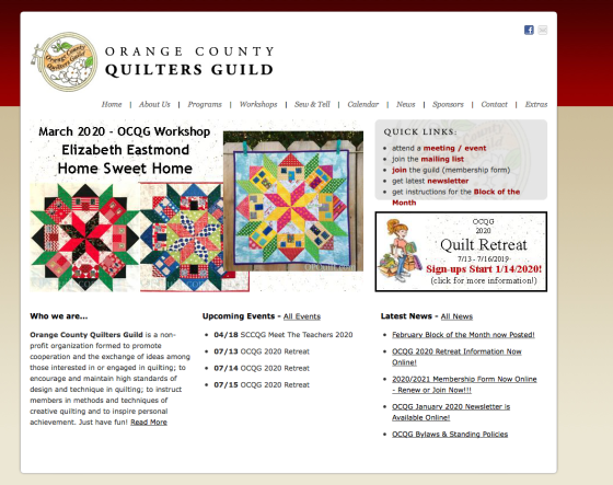 Orange County Quilt Guild Visit_1