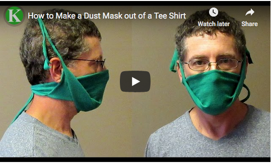 T-shirt Mask COVID-19