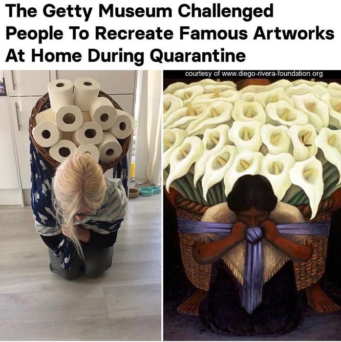 Art Imitation Rivera