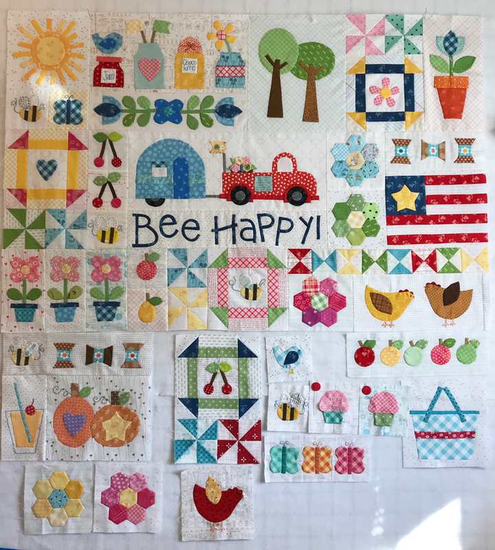 BeeHappy6_full quilt April 2020