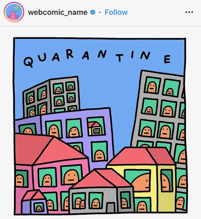 Covid Meme Quarantine houses