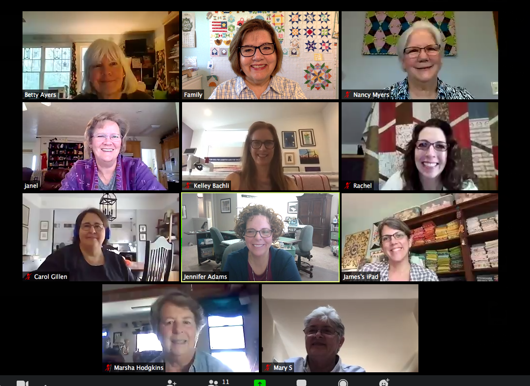 Zoom Chat April 1, 2020
