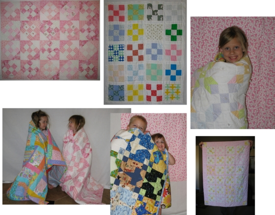 Baby Quilts Nine Patch