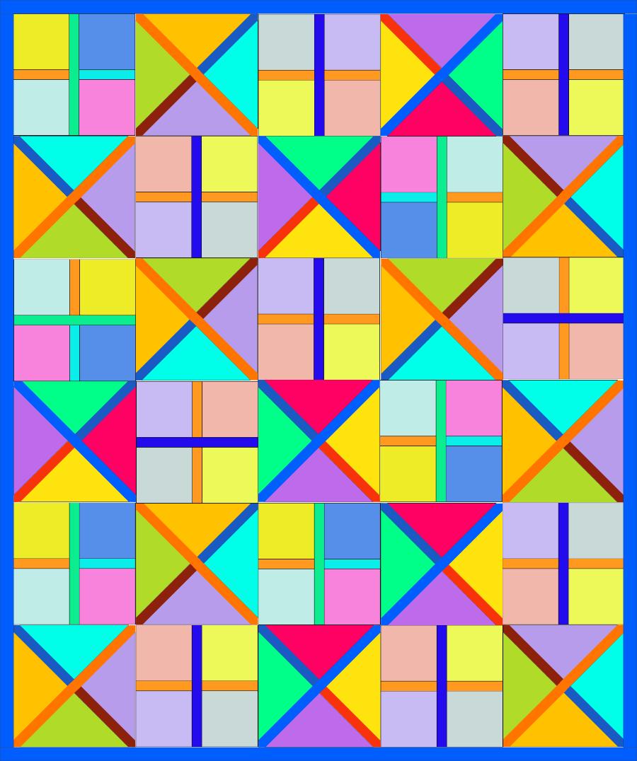 CrCr Illus_8 Quilt Colorful